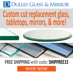 Dulles Glass and Mirror - Replacement Tabletops