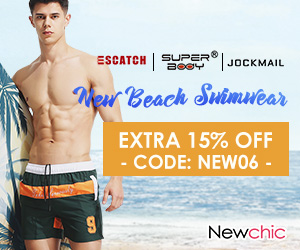 Extra 15% Off Men's Swimwear