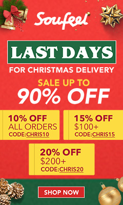 Last Days! For Christmas Delivery - 20% OFF $200+ with code CHRIS20 Offer Expires - 12/20