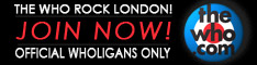 The Who Rock London - Official Wholigans Only - Jo