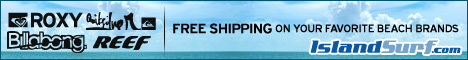 Free Shipping on Billabong, Quiksilver, Roxy, Reef