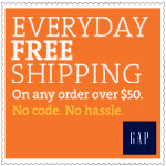Gap Online Coupons: Free Shipping