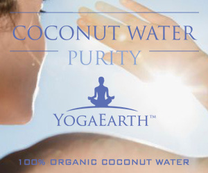 Purity: 100% Organic Coconut Water by YogaEarth