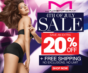 Maidenform July 4th Sale: 20% Off Sitewide Plus Free Shipping
