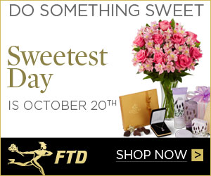 Do Something Sweet! Sweetest Day is October 20th!