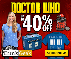 Up to 40% off Doctor Who Sale