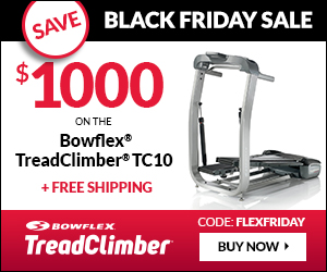 BowFlex TreadClimber Black Friday Sale
