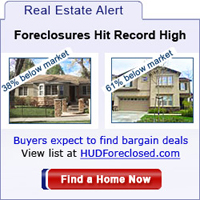 Foreclosures hit record-low prices. Search Now!