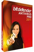 BitDefender Antivirus Pro 2011 (3 PCs und 1 Jahr)