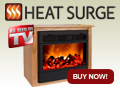Heat Surge Amish Fireplaces as Seen on TV