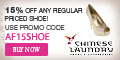 15% Off on Regular Priced Shoe - Code CL15REG323