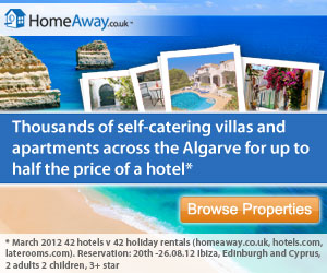 Algarve villas and apartments from HomeAway