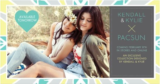 Kendall & Kylie Jenner for PacSun
