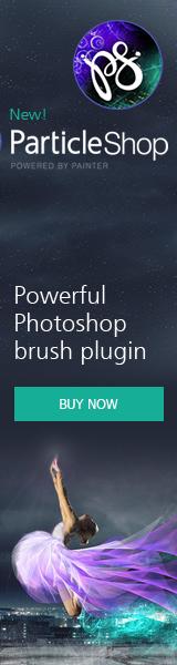 New Photoshop Plugin! ParticleShop