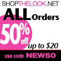50% Off Orders up to $20