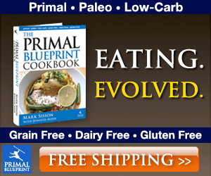 The Primal Blueprint Cookbook - Order Today!