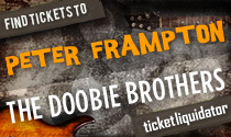 Peter Frampton and the Doobie Brothers tickets
