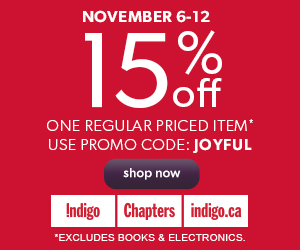 15% Off One Regular Priced Item. Use Promo Code: JOYFUL. Excludes Books and Electronics.