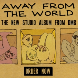 Pre-Order Away from the World today and get 5 bonus tracks!