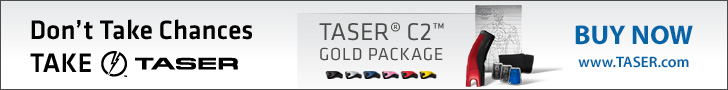 Buy the TASER C2 Gold Package Today!