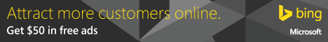 Bing Ads $50 Free Advertising free web domain
