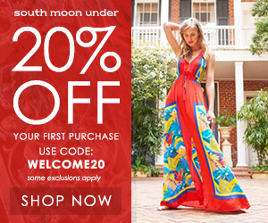Shop Now on Designer Labels from South Moon Under & Take 20% Off Your First Order with WELCOME20