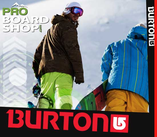 Burton Products in stock and shipping now