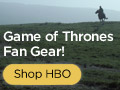 Game of Thrones T-Shirts & Gear at the HBO Shop