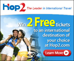 Win two free Airline Tickets!