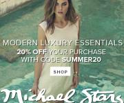 Shop Michael Stars Modern Luxury Essentials & Save 20% off Sitewide. Use Code: SUMMER20.
