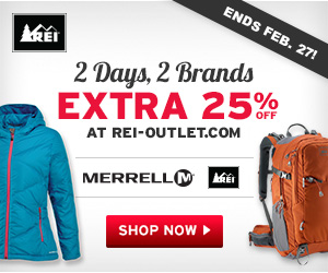 2 Day REI 25% Off Sale with REI Coupon Code