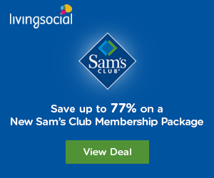 Save on a Sam's Club Membership package