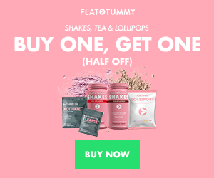 Christmas Came Early - Buy One, Get One Half Off Flat Tummy Shakes, Tea & Lollipops