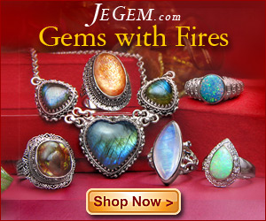 Gems with Fires at JeGem.com