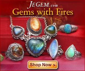 Gems with Fires at JeGem.com