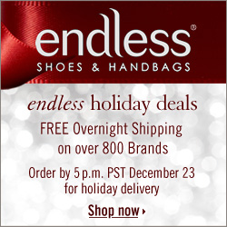FREE Overnight Shipping from Endless.com