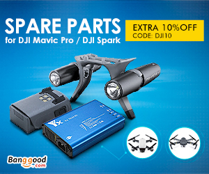 Extra 10% OFF For DJI Drone Spare Parts Collection