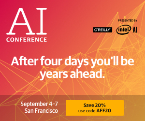 Artificial Intelligence Conference in San Francisco 2018 (300x250)