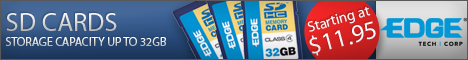 Digital Media Cards from EDGE Tech Corp