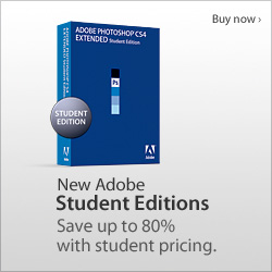 Adobe CS4 Photoshop Extended - Student Edition