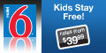 Motel 6 - Kids Under 18 Stay Free