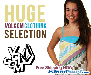 Free Shipping on Volcom beachwear for men/women