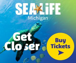 Visit SEA LIFE Michigan Aquarium