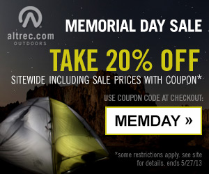 Memorial Day Sale - up to 60% off + 20% off