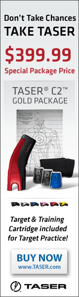 Get your TASER C2 Gold Package Today!