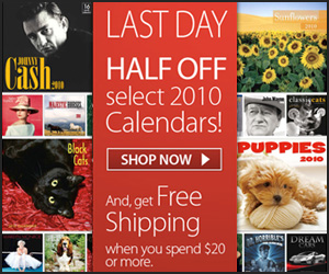 50% Off Sale at Calendars.com