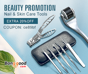 Extra 20% OFF For Beauty Nail & Skin Care Tools Promotion