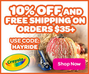10% Off $35 and Free Shipping on $35 with HAYRIDE