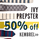 Ivy Prepster ties & pocket squares