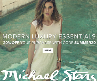 Shop Michael Stars Modern Luxury Essentials & Save 20% off Sitewide. Use Code: SUMMER20.
